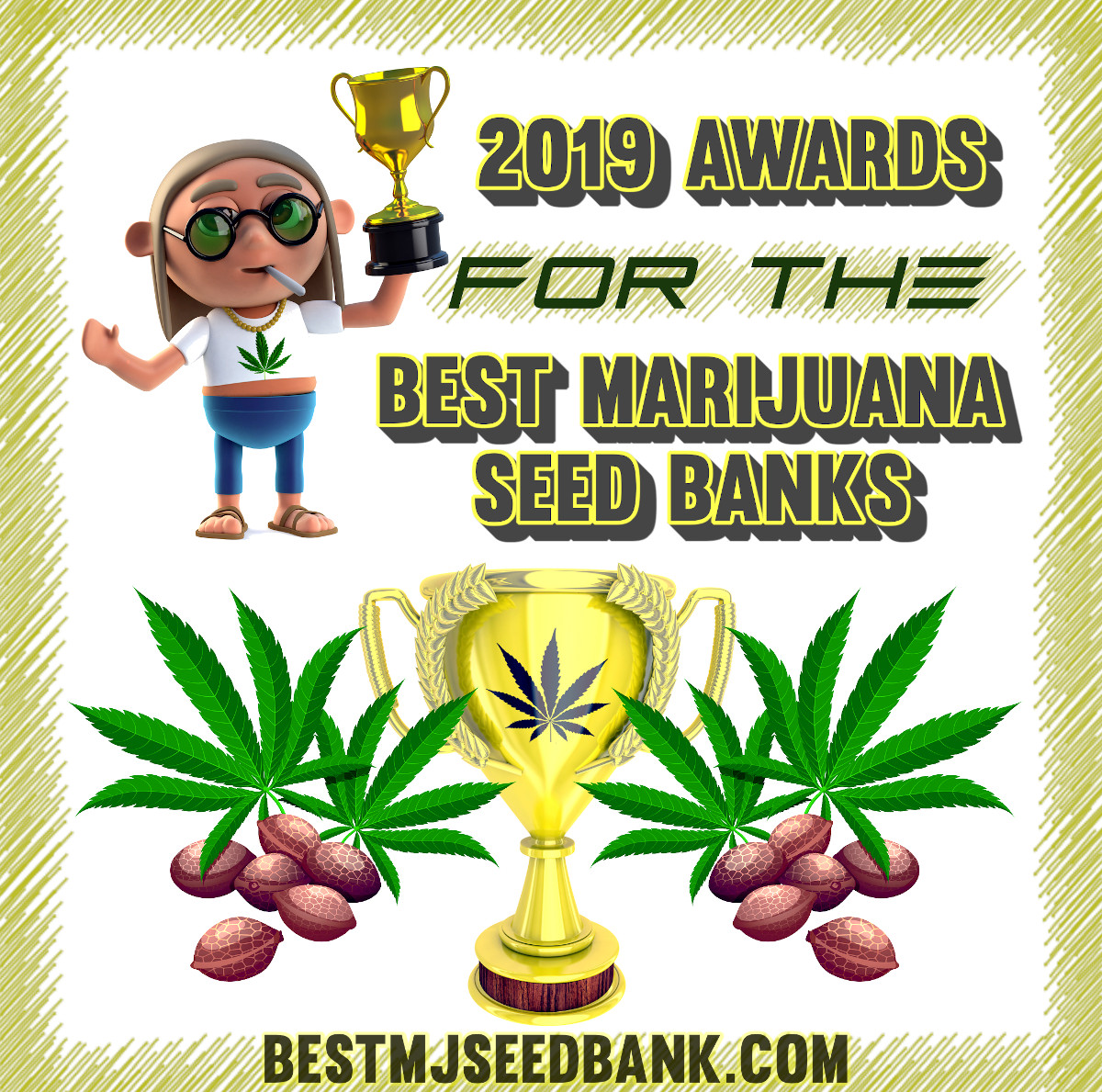 2019-2021 Awards for the Best Marijuana Seed Bank